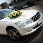 Mercedes S-class для свадьбы